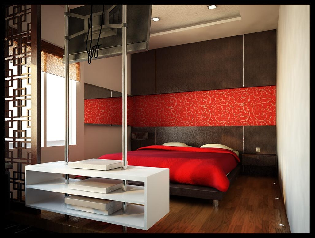 --------------------------------------decoration in red 4 3