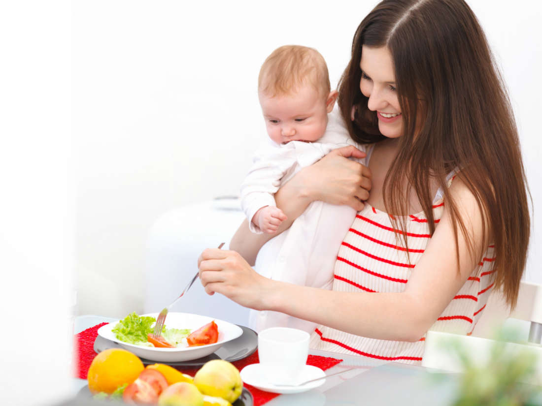 food to eat while breastfeeding