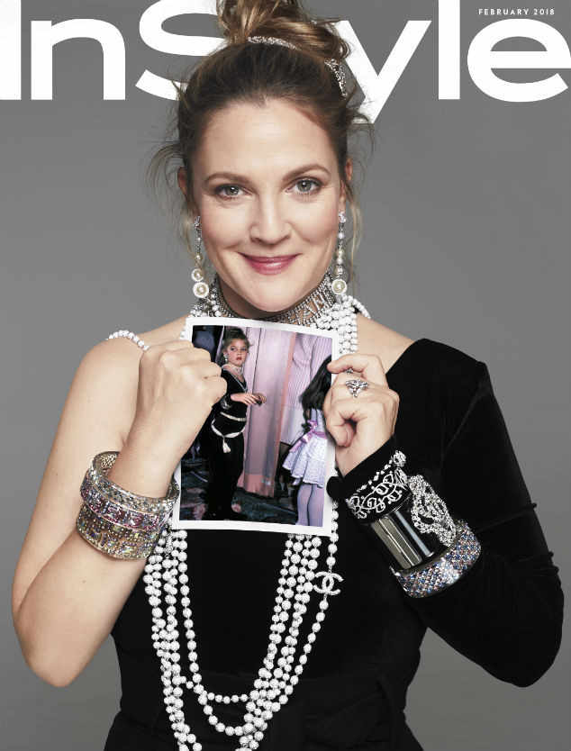 Drew Barrymore InStyle